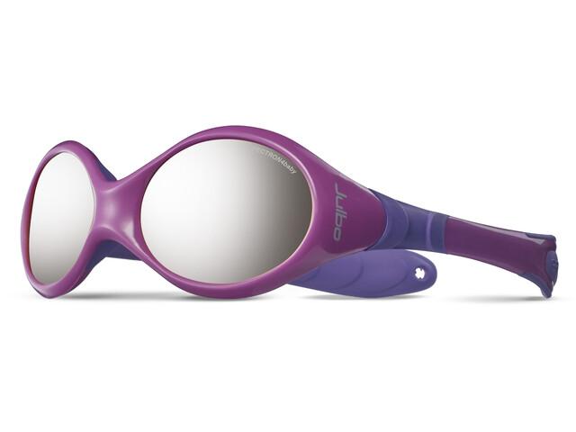 Julbo Baby Looping III Spectron 4 Sunglasses 2-4Y Pink/Purple-Gray Flash Silver